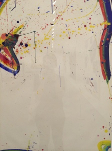 Sam Francis, Untitled (Marko's Rain) April14