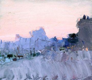 Cold Evening Venice, Bato Dugarzhapov